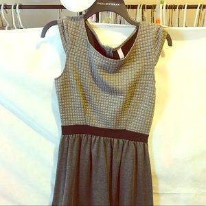 Xhilaration Geometric Sleeveless A-Line Dress